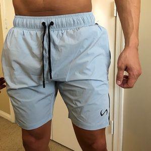 TLF Sky Blue Athletic Shorts
